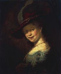 Rembrandt, Saskia als Maedchen von AKG  Images
