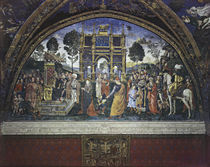 Pinturicchio, Disputation Katharina v.Al by AKG  Images