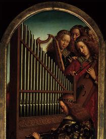 Engelskonzert / Genter Altar/v.Eyck 1432 von AKG  Images