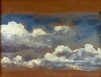 J.Constable, Wolkenstudie by AKG  Images