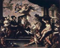 Rubens malt Allegorie / Luca Giordano von AKG  Images