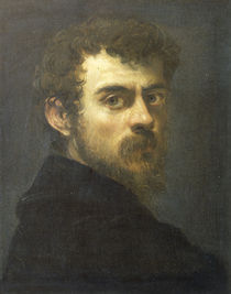 Jac.Tintoretto, Selbstbildnis 1547 by AKG  Images
