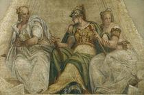 Veronese, Minerva mit Geometrie u.Arith. von AKG  Images