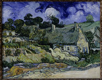 Van Gogh / Haeuser in Cordeville / 1890 by AKG  Images