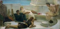 L.Alma Tadema, Eine Lesung aus Homer von AKG  Images