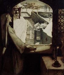J.E.Millais, St Agnes Eve von AKG  Images