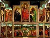 Jan van Eyck/ Genter Altar/vollendet1432 by AKG  Images