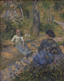 C.Pissarro, Baeuerinnen bei der Rast von AKG  Images