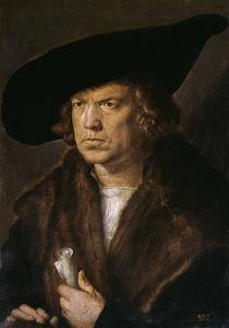 Duerer, Bildnis eines Unbekannten / 1521 von AKG  Images