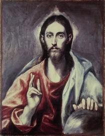 El Greco/ Salvator Mundi/ um 1600 by AKG  Images