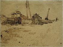 V.van Gogh, Lagergelaende der Eisenbahn von AKG  Images