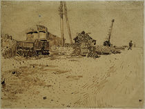 V.van Gogh, Lagergelaende der Eisenbahn by AKG  Images