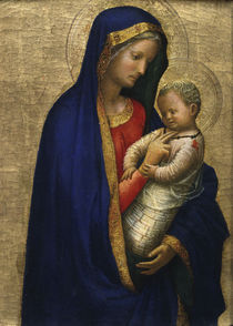 Masaccio, Maria mit Kind by AKG  Images