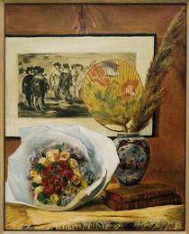 A.Renoir, Stilleben mit Bukett u.Faecher von AKG  Images
