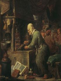 Der Alchimist / Gemaelde von Teniers von AKG  Images