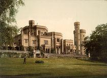 Potsdam, Schloss Babelsberg / Foto 1898 von AKG  Images