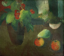 August Macke, Stilleben mit Begonie by AKG  Images
