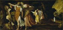 Veronese, Lot und Toechter fliehen.. von AKG  Images