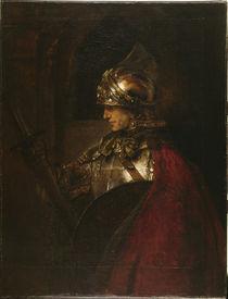 Alexander d.Grosse / Gem.v.Rembrandt von AKG  Images