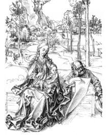 A.Duerer, Heilige Familie von AKG  Images