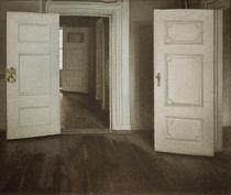 V.Hammershoei, Offene Tueren by AKG  Images