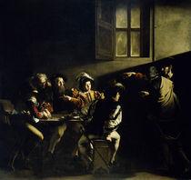 Caravaggio, Berufung des Matthaeus by AKG  Images