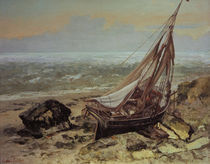 Gustave Courbet, Das Fischerboot by AKG  Images