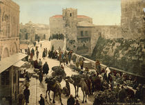 Jerusalem, Suekat Allan / Photochrom by AKG  Images