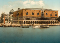 Venedig, Dogenpalast / Photochrom by AKG  Images
