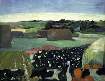 Gauguin, Heuhaufen in der Bretagne/1890 by AKG  Images
