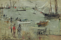 B.Morisot, Hafenszene, Isle of Wight by AKG  Images