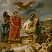 Gruendung Konstantinopel / Gem. v. Rubens by AKG  Images