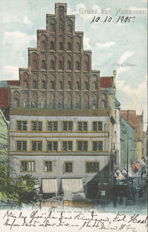 Hannover, Altes Haus / Postkarte by AKG  Images