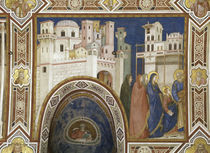 Giotto, Heimkehr 12jaehr.Jesus / Assisi by AKG  Images