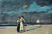 Winslow Homer, Spaziergang am Strand von AKG  Images