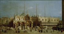 Venedig, Markusplatz / Gem.v.Canaletto von AKG  Images