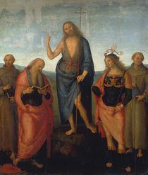 Perugino zugesch., Johannes d.T. von AKG  Images