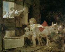 J.H.Fragonard, Der Eselstall by AKG  Images