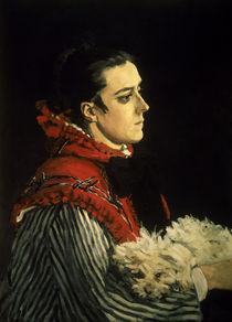 Claude Monet, Camille mit Huendchen by AKG  Images