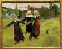 P.Gauguin, Tanzende breton. Maedchen von AKG  Images