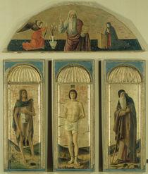 Bellini, Tripychton des Hl.Sebastian by AKG  Images