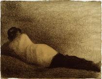 G.Seurat, Liegender Mann (Studie) by AKG  Images
