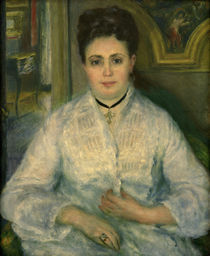 A.Renoir, Madame Choquet in Weiss by AKG  Images