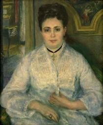 A.Renoir, Madame Choquet in Weiss von AKG  Images