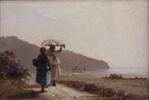 Camille Pissarro, Zwei Frauen... by AKG  Images
