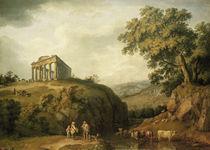 J.P.Hackert, Tempel von Segesta by AKG  Images