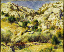 A.Renoir, Berge am Estaque von AKG  Images