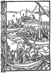 Brant, Narrenschiff / Holzschn.v.Duerer von AKG  Images