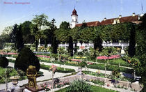 Mainau, Rosengarten / Photochrom 1912 by AKG  Images