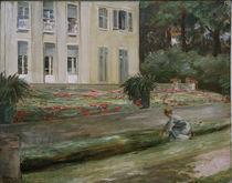 M.Liebermann, Die Blumenterrasse by AKG  Images